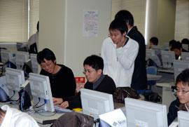 プログラミング演習の風景