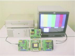 画像処理構成の即時評価システム