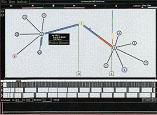 ネットワークのデータの流れシュミレーション
